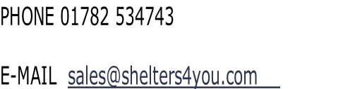 PHONE 01782 534743    