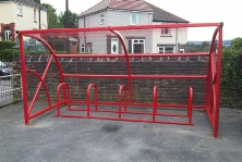 cycle shelter Trent